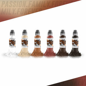 World Famous Ink 6 Color Michele Turco Portrait Set 1oz
