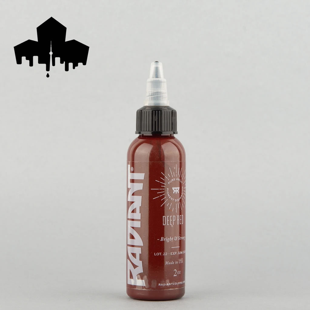 Radiant Deep Red 1 oz tattoo ink