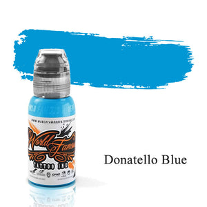 World Famous Ink Donatello Blue