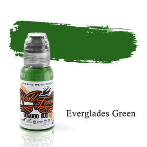 World Famous Ink Everglades Green