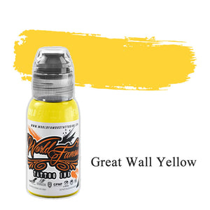 World Famous Ink Great Wall Yellow