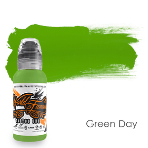 World Famous Ink Green Day