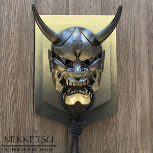 Hannya Mask Gold