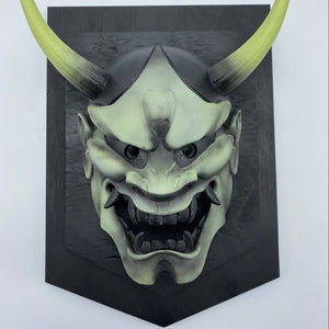 Hannya Mask Green