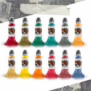 World Famous Ink 12 Color Jason Ackerman Serial Killer Set 1oz