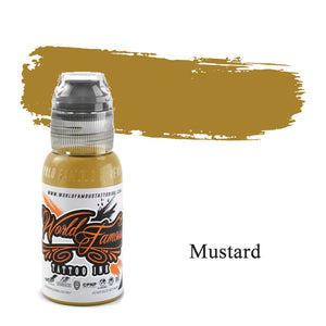 World Famous Ink Mustard