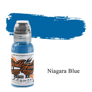 World Famous Ink Niagara Blue