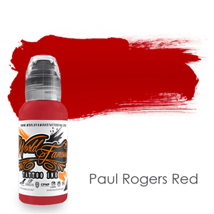 World Famous Ink Paul Rogers Red