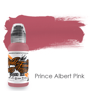 World Famous Ink Prince Albert Pink