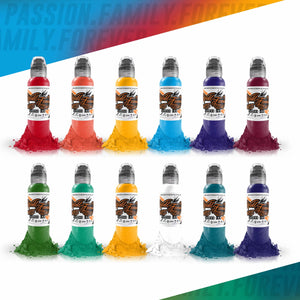World Famous Ink 12 Color Primary Set #3 1oz Canada