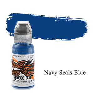 World Famous Ink Navy Seals Blue