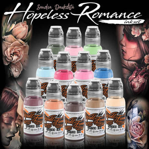 World Famous Ink 12 Color Sandra Daukshta Hopeless Romance Set Canada