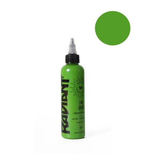 Radiant Lime Green Tattoo Ink