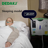 DEDAKJ Oxygen Concentrator 2-9L/min Adjustable Portable Oxygen Machine for Home and Travel Use, AC 110V Humidifiers