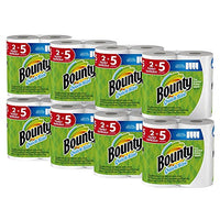 Bounty Quick-Size Paper Towels, 16 Family Rolls, White (4 Pack (16 Count))