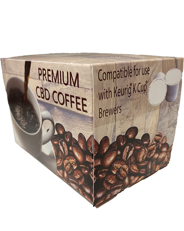 Medium Roast CBD KCup 10mg (6pk)  60mg Total