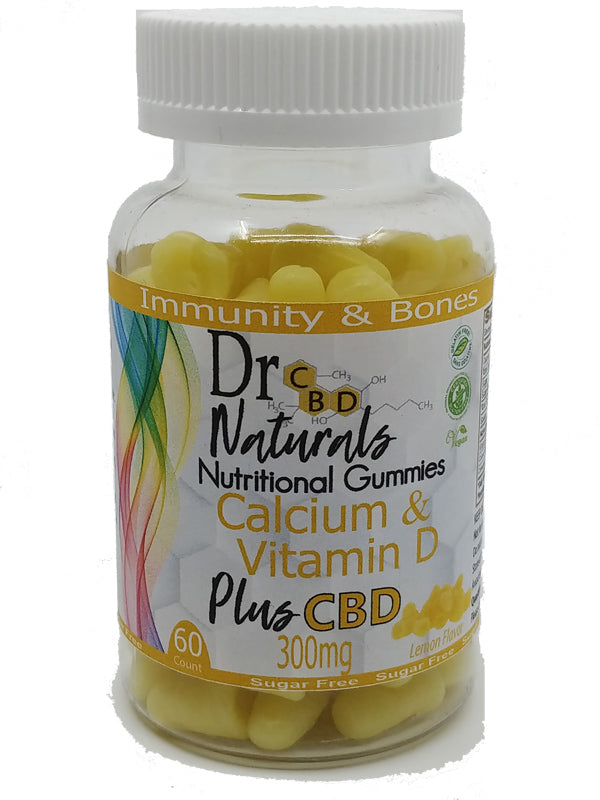 Calcium and Vitamin D (SUGER FREE) 300 mg