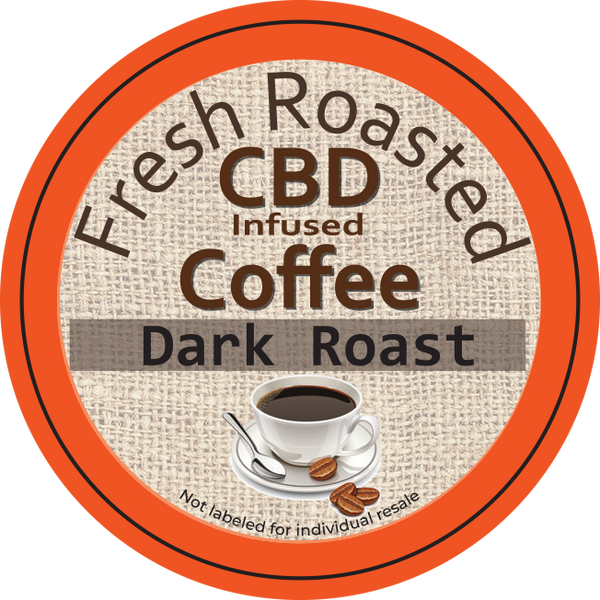 Dark Roast CBD KCup 10 mg 12pk 120mg Total