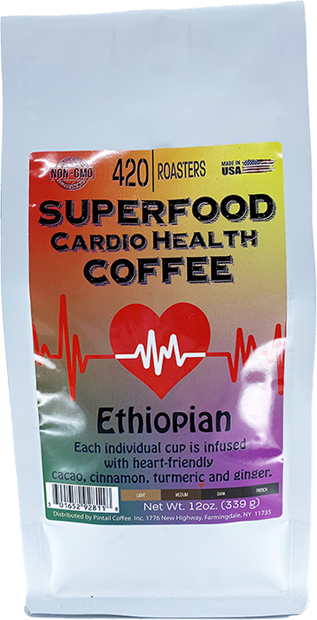420 ROASTERS SUPERFOOD CARDIO HEALTH COFFEE