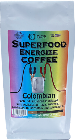 420 ROASTERS SUPERFOOD ENERGIZE COFFEE