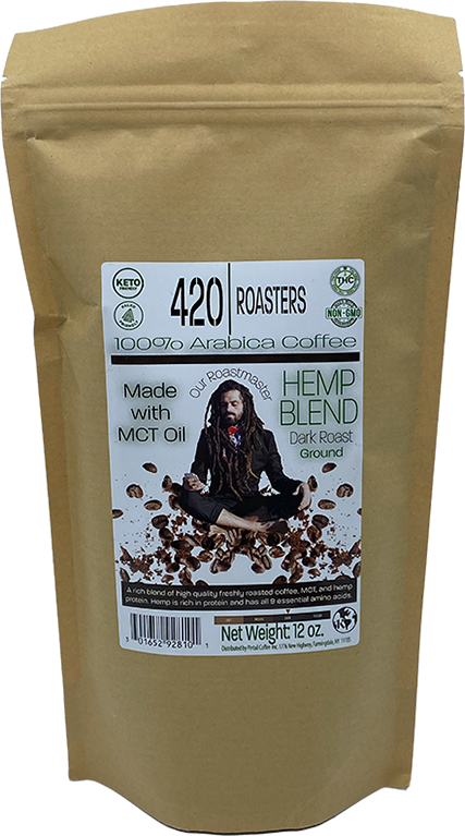 420 ROASTER HEMP DARK COFFEE BLEND