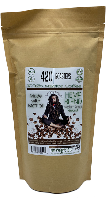 420 ROASTER HEMP MEDIUM COFFEE BLEND