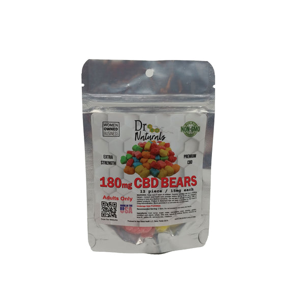 GUMMY BEARS 180 mg - 12 COUNT BAG
