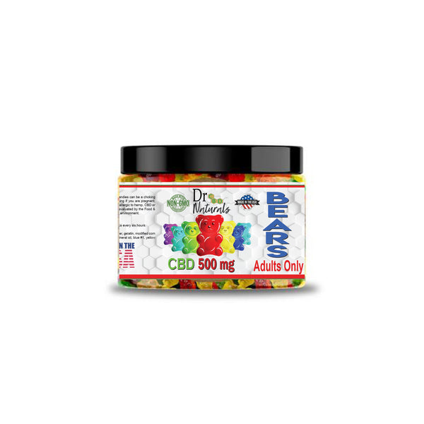 TRADITIONAL GUMMY BEARS 500 mg