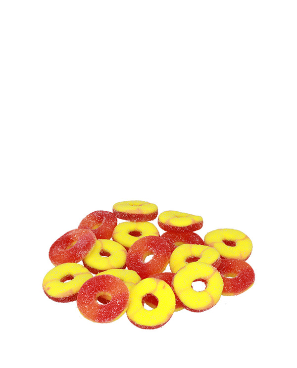 GUMMY PEACH RINGS 750MG