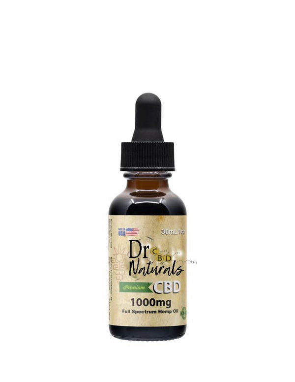 FULL SPECTRUM HEMP OIL TINCTURE 1000MG