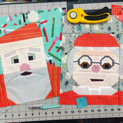 QuiltyClaus and BarbClaus Pattern