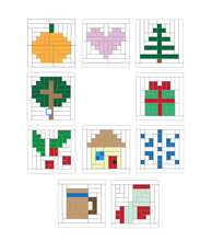 Load image into Gallery viewer, Log Cabin Home for the Holidays