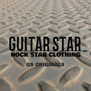 Guitar Star Originals logo on metal