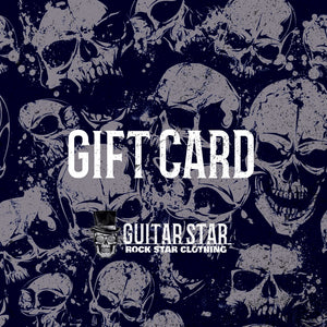 Guitar Star Clothing Gift Card