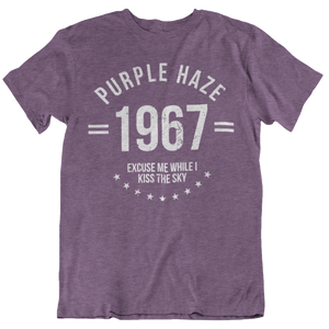 purple haze t shirt tri blend