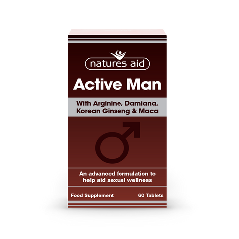 Natures Aid Active Man N60