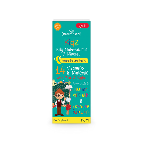 Natures Aid Kidz Daily Multi-Vitamin & Minerals