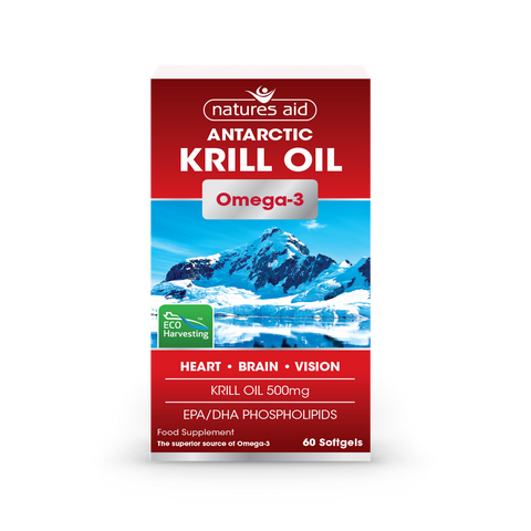 Natures Aid Antarctic Krill Oil 500 mg