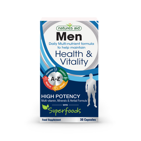 Natures Aid Man Daily Multi-nutrient formula