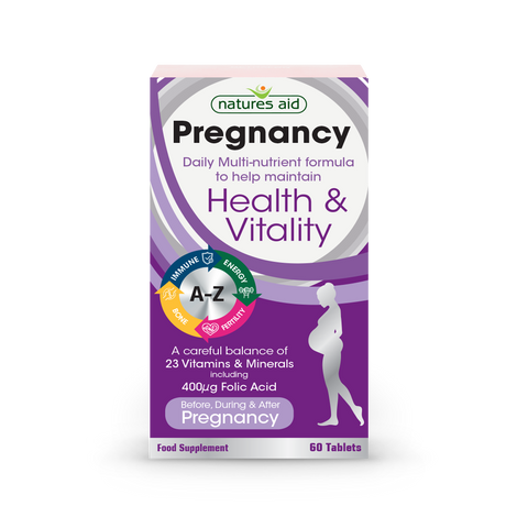 Natures Aid Pregnancy Daily Multi-nutrient formula N60