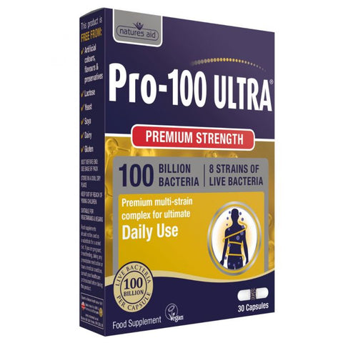 Natures Aid Pro-100 Ultra N30