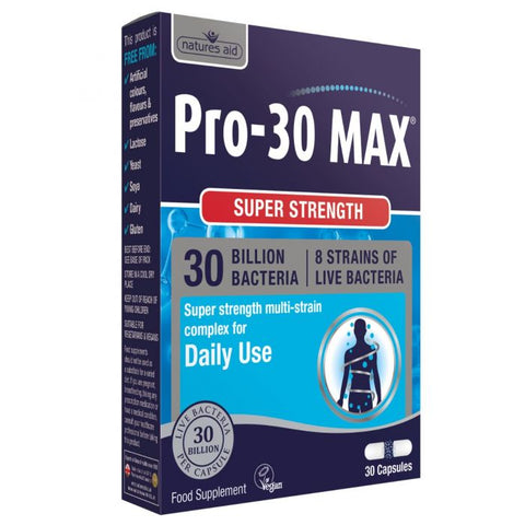 Natures Aid Pro-30 Max N30