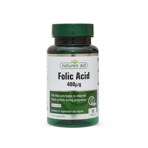 Natures Aid Folic Acid N90