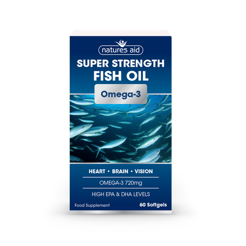 Natures Aid Super Strength Fish Oil N60