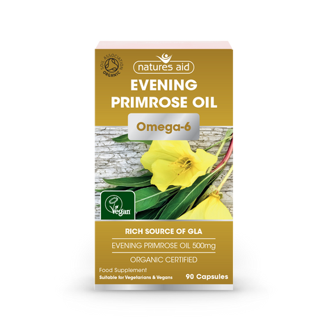 Natures Aid Evening Primrose Oil 500 mg
