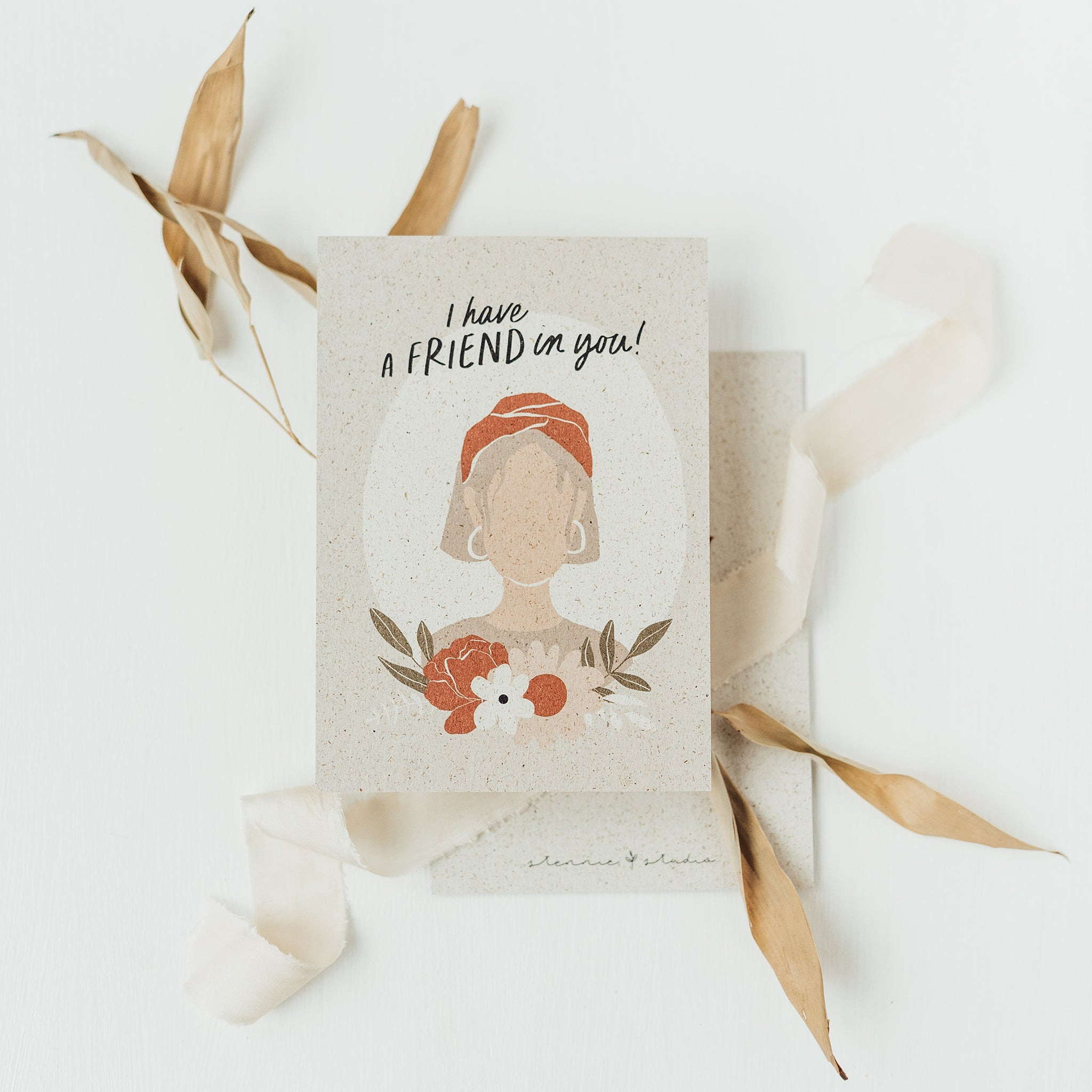 I have a friend in you - Postkarte A6