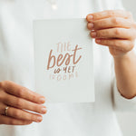 The best is yet to come - Postkarte A6