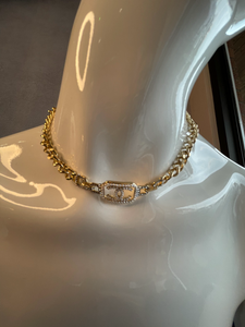 Designer Inspired Choker with Pearl Detail-Fi&Co Boutique