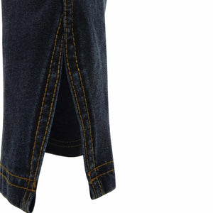 Freddy Dark Denim Yellow Stitch with Twisted Slit Seam-Dark Denim-Fi&Co Boutique