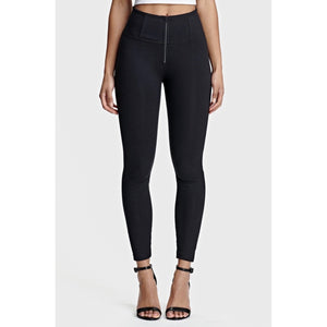 Freddy Shaping ankle-length 7/8 high-rise WR.UP® super skinny trousers-Black-Fi&Co Boutique